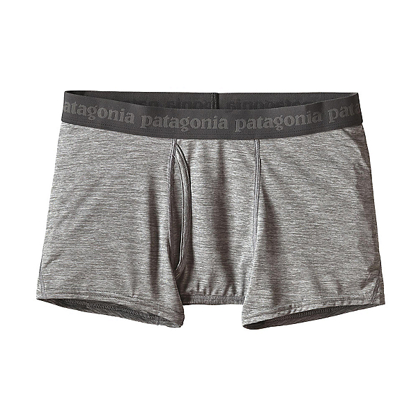 Patagonia Capilene Daily Boxer Briefs, Feather Grey, 600