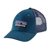 Patagonia P-6 Logo LoPro Trucker Hat, Big Sur Blue, medium