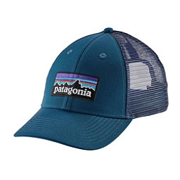 Patagonia P-6 Logo LoPro Trucker Hat, Big Sur Blue, 256