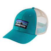 Patagonia P-6 Logo LoPro Trucker Hat, True Teal, medium