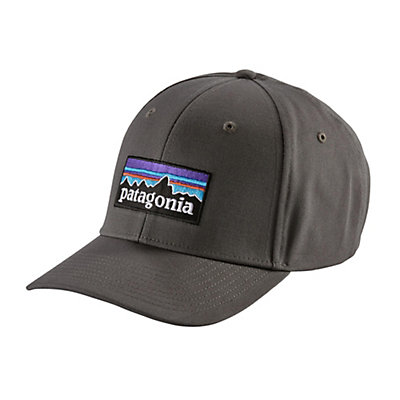 Patagonia P-6 Logo Roger That Hat, Forge Grey, viewer