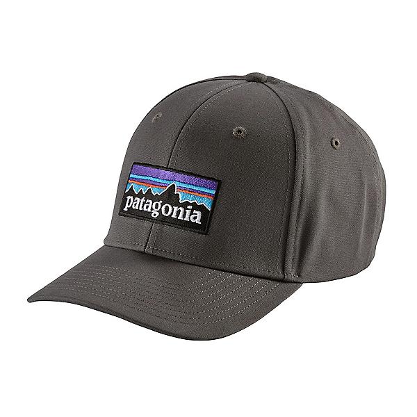 Patagonia P-6 Logo Roger That Hat, Forge Grey, 600