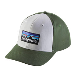 Patagonia P-6 Logo Roger That Hat, White, 256