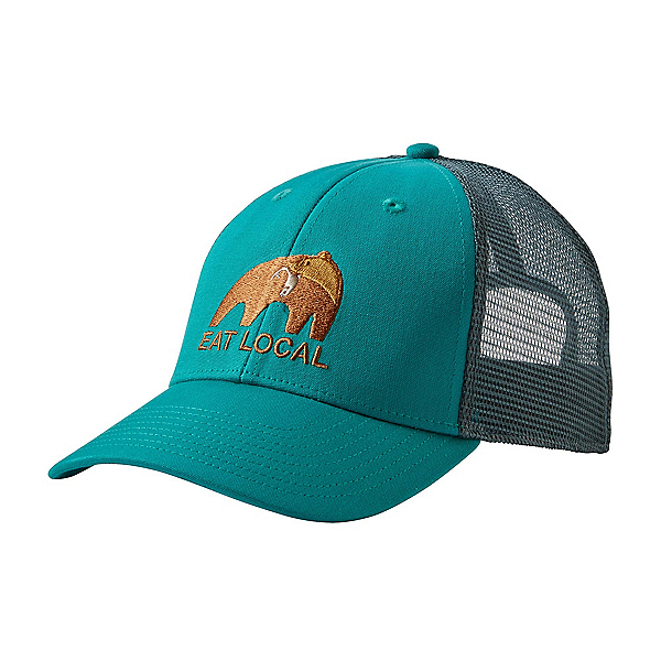 Patagonia Eat Local Upstream LoPro Trucker Hat, True Teal, 600