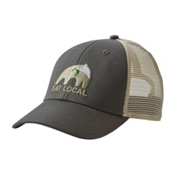 Patagonia Eat Local Upstream LoPro Trucker Hat, Forge Grey, medium