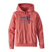 Patagonia Femme Fitz Roy Lightweight Womens Hoodie, Spiced Coral, medium