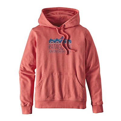 Patagonia Femme Fitz Roy Lightweight Womens Hoodie, Spiced Coral, viewer