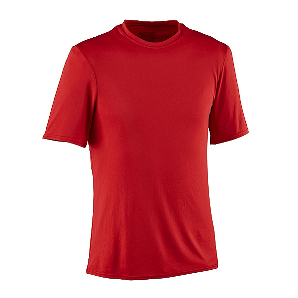 Patagonia Capilene Daily Mens T-Shirt, Fire, 600