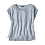 Patagonia Lightweight Linen Top Womens Shirt, Cuban Blue, medium