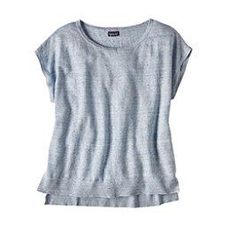 Patagonia Lightweight Linen Top Womens Shirt, Cuban Blue, 256