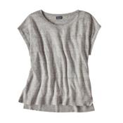 Patagonia Lightweight Linen Top Womens Shirt, Tailored Grey, medium