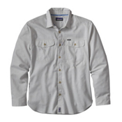 Patagonia Cayo Largo Long Sleeve Mens Shirt, Drifter Grey, medium