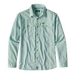 Patagonia Cayo Largo Long Sleeve Mens Shirt, Gill Green, 256