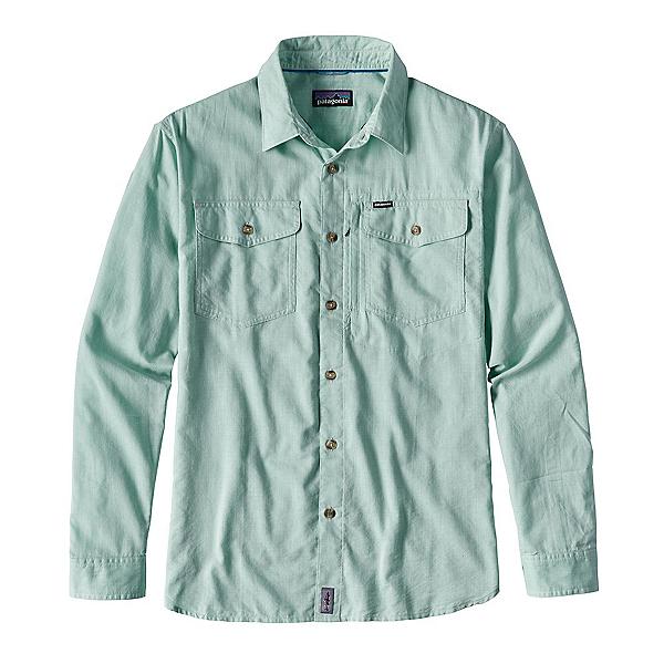Patagonia Cayo Largo Long Sleeve Mens Shirt, Gill Green, 600