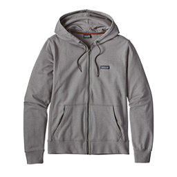 Patagonia Lightweight Full Zip Mens Hoodie, Feather Grey-Forge Grey, 256