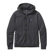 Patagonia Lightweight Full Zip Mens Hoodie, Ink Black, medium