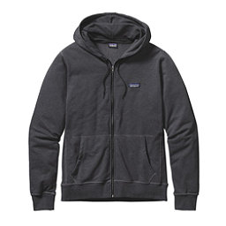 Patagonia Lightweight Full Zip Mens Hoodie, Ink Black, 256