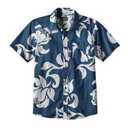 Patagonia Go To Mens Shirt, Exotic Floral-Glass Blue, 256