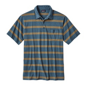 Patagonia Squeaky Clean Polo Mens Shirt, Branch Creek Bay Blue, medium