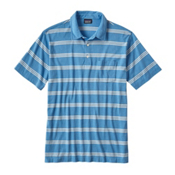 Patagonia Squeaky Clean Polo Mens Shirt, Branch Creek Radar Blue, medium
