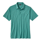Patagonia Squeaky Clean Polo Mens Shirt, Gem Green, medium