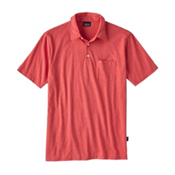 Patagonia Squeaky Clean Polo Mens Shirt, Spiced Coral, medium