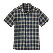 Patagonia Steersman Mens Shirt, Navy Blue, medium