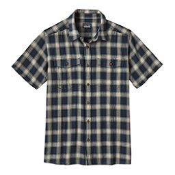 Patagonia Steersman Mens Shirt, Navy Blue, 256