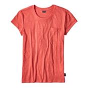Patagonia Mainstay Womens T-Shirt, Carve Coral, medium