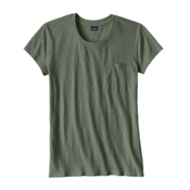 Patagonia Mainstay Womens T-Shirt, Hemlock Green, medium