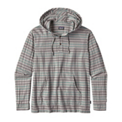 Patagonia Steersman Mens Hoodie, Drifter Grey, medium