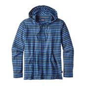 Patagonia Steersman Mens Hoodie, Superior Blue, medium