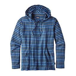 Patagonia Steersman Mens Hoodie, Superior Blue, 256