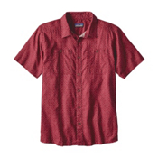 Patagonia Back Step Mens Shirt, Adzuki Red, medium