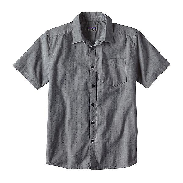 Patagonia Fezzman Slim Mens Shirt, Navy Blue, 600