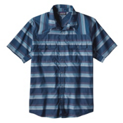 Patagonia Bandito Mens Shirt, Big Sur Blue, medium