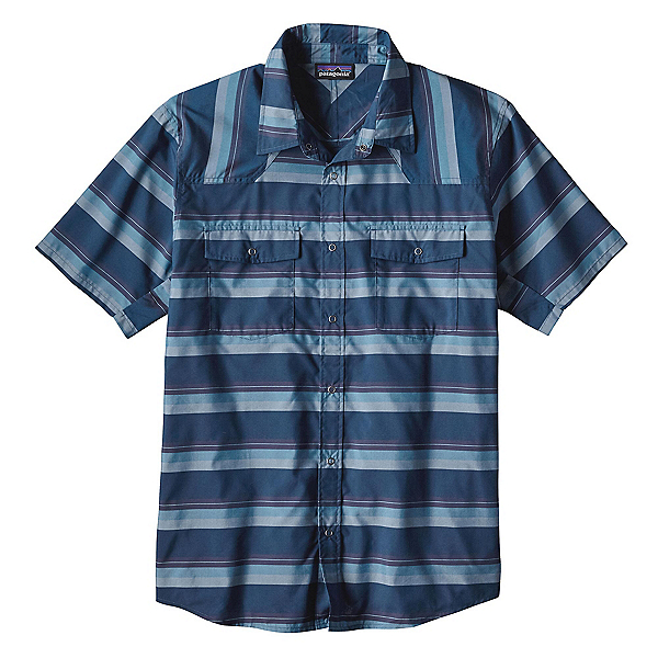 Patagonia Bandito Mens Shirt, Big Sur Blue, 600
