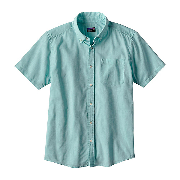 Patagonia Lightweight Bluffside Mens Shirt, Chambray Cuban Blue, 600