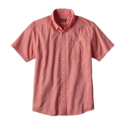 Patagonia Lightweight Bluffside Mens Shirt, Spiced Coral, medium