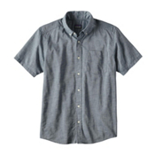 Patagonia Lightweight Bluffside Mens Shirt, Bay Blue, medium