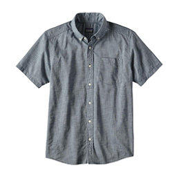 Patagonia Lightweight Bluffside Mens Shirt, Bay Blue, 256