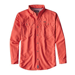 Patagonia Sol Patrol II Long Sleeve Mens Shirt, Carve Coral, 256
