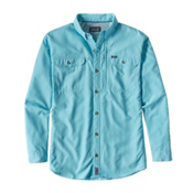 Patagonia Sol Patrol II Long Sleeve Mens Shirt, Cuban Blue, medium