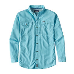 Patagonia Sol Patrol II Long Sleeve Mens Shirt, Cuban Blue, 256