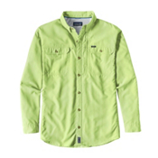 Patagonia Sol Patrol II Long Sleeve Mens Shirt, Gill Green, medium