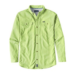 Patagonia Sol Patrol II Long Sleeve Mens Shirt, Gill Green, 256