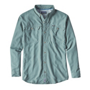 Patagonia Sol Patrol II Long Sleeve Mens Shirt, Hemlock Green, medium