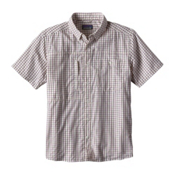 Patagonia Gallegos Mens Shirt, Birch White, medium