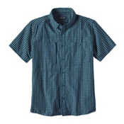 Patagonia Gallegos Mens Shirt, Big Sur Blue, medium
