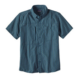 Patagonia Gallegos Mens Shirt, Big Sur Blue, 256